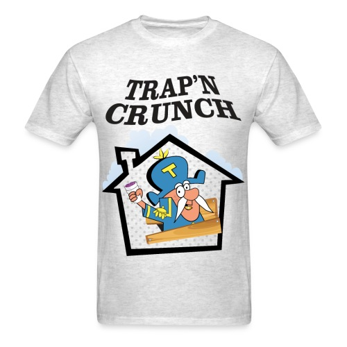 Trappn Crunch - Men's T-Shirt