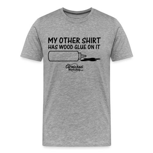 Wood Glue (S-5XL) - Men's Premium T-Shirt