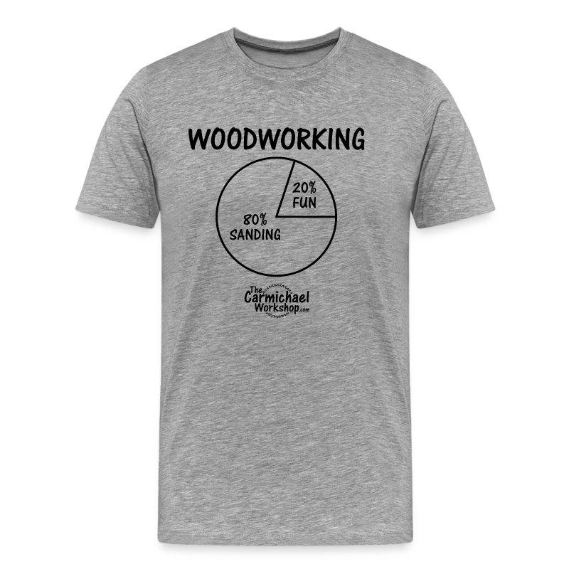 Pie Chart (S-5XL) - Men's Premium T-Shirt