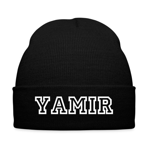 Yamir Beanie - Knit Cap with Cuff Print