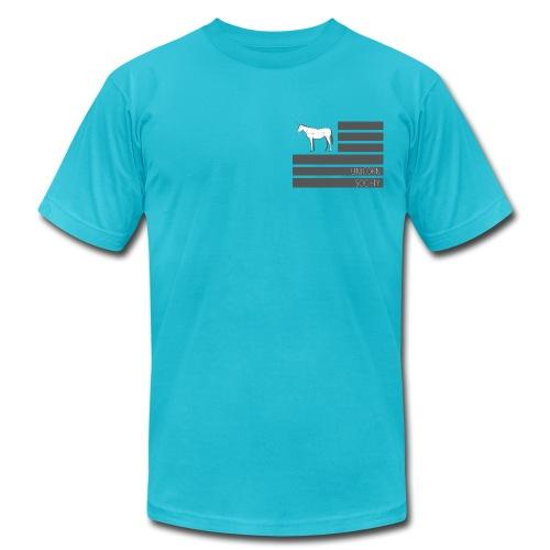 THE FLAG - Men's Fine Jersey T-Shirt