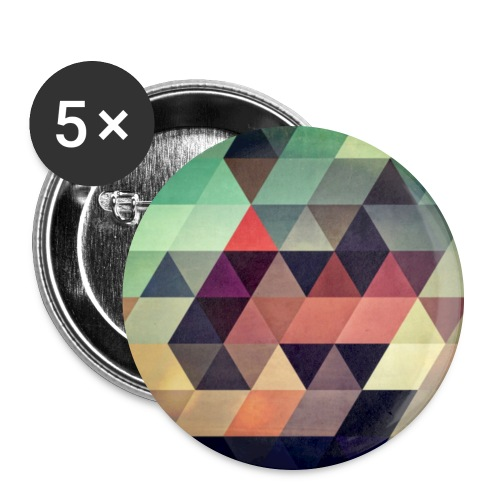 So Abstract button - Buttons large 2.2'' (5-pack)