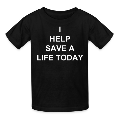 Kids' T-Shirt - MY SON HAS A RARE CEREBRAL PALSY WE HAVE INSURANCE BUT AS USUAL THEY DONT ACCEPT IT .THE TREATMENT HE NEEDS IS NOT EVEN AVAILABLE IN THE UNITED STATES .THE PROCEDURE IS A ONE TIME MARROW TRANSPLANT NO AFTER CARE THE PROCEDURE COST $20,000 WHICH INCLUDES AIRFARES STAY AND REHAB .. IM NOT ASKING YOU TO HELP ME SAVE MY HOUSE OR MY CAR IM ASKING CAN YOU HELP ME SAVE MY SON . ID GET DOWN ON MY KNEES AND BEG IF IT MEANT ONE MORE DAY WITH MY SON ... THANK YOU FOR YOUR KINDNESS
