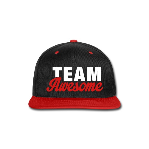 TEAM AWESOME Snapback cap - Snap-back Baseball Cap