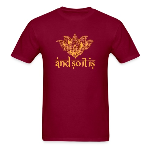 And So It Is Henna Tee (Unisex) - Men's T-Shirt