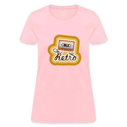 Retro-Cassette -Womens - Women's T-Shirt