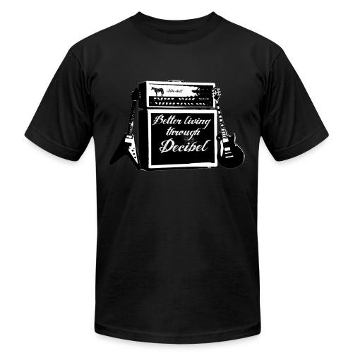 MIC-HELL #DECIBEL - Men's  Jersey T-Shirt