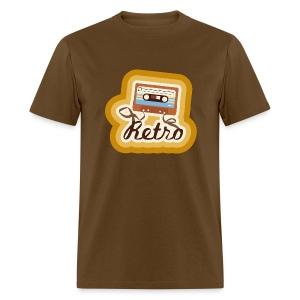 Retro-Cassette - Men's T-Shirt