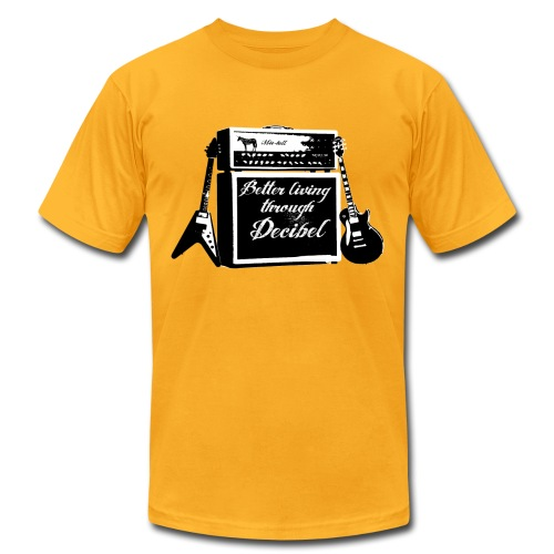 MIC-HELL #DECIBEL - Men's Fine Jersey T-Shirt