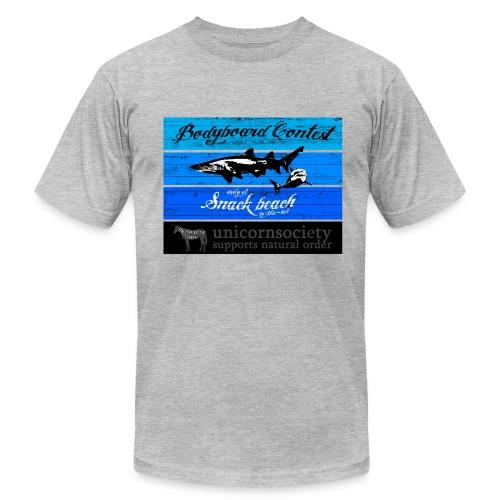 MIC-HELL #SNACK-BEACH - Men's Fine Jersey T-Shirt
