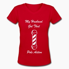 HUSBAND POLE ACTION S1 Women's T-Shirts