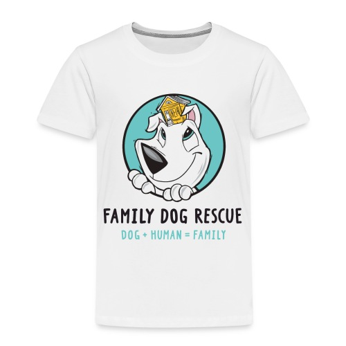 Family Dog Rescue (Mission on Back): Toddler Shirt - Toddler Premium T-Shirt