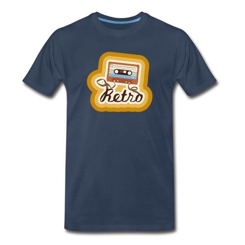 Retro-Cassette - Men's Premium T-Shirt