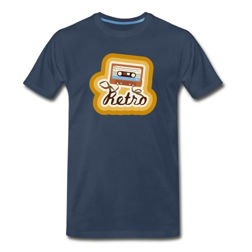 Retro-Cassette - Men's Premium T-Shirt