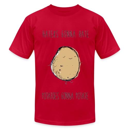 MENS Haters Gonna Hate, Potatoes Gonna Potate T-Shirt - Men's Fine Jersey T-Shirt