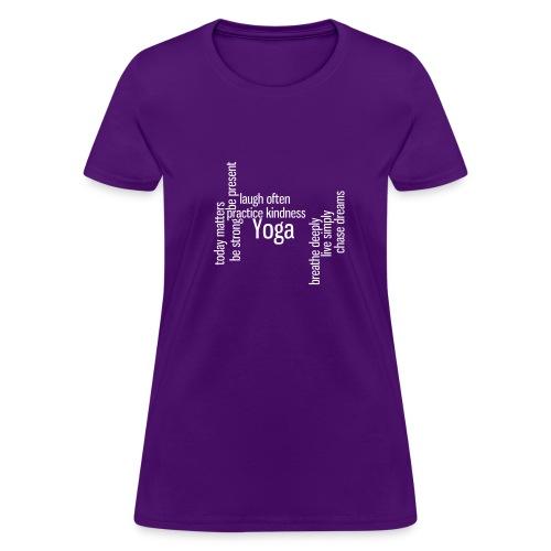 Women's Wideneck Words of Life - Women's T-Shirt