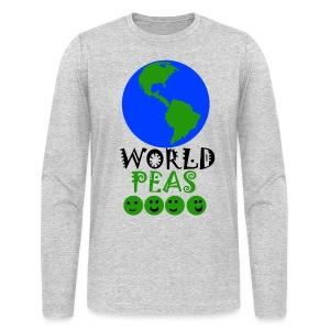 World Peas!  - Men's Long Sleeve T-Shirt by Next Level
