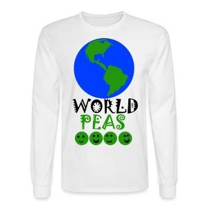 World Peas!  - Men's Long Sleeve T-Shirt