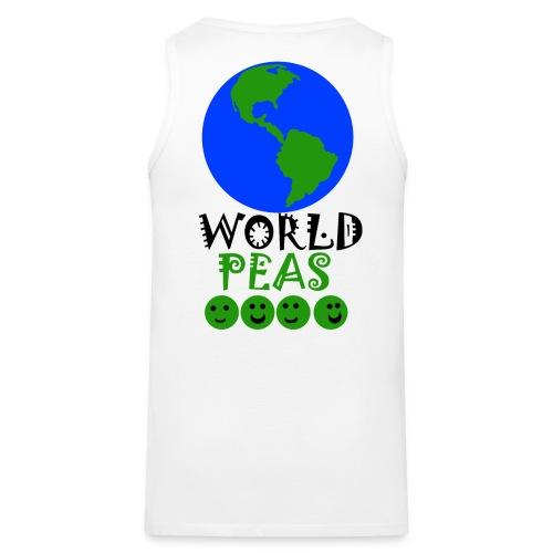 World Peas!  - Men's Premium Tank