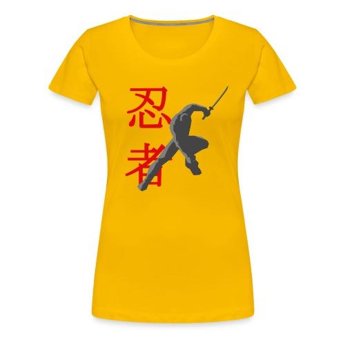 Silent Assasin - Womens - Women's Premium T-Shirt