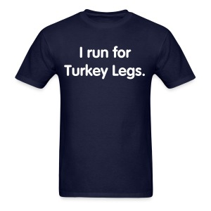Turkey Leg (Men's Regular Cut) - Men's T-Shirt