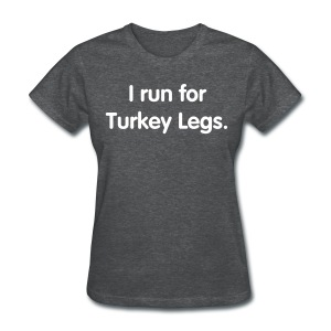 Turkey Leg (Women's Regular Cut) - Women's T-Shirt