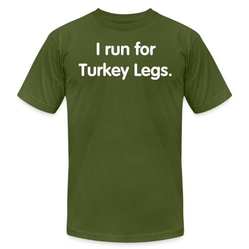 Turkey Leg (Men's Slim Cut) - Men's Fine Jersey T-Shirt