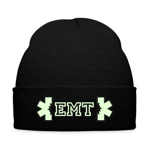 EMT Knit Cap (glow in the dark) - Knit Cap with Cuff Print