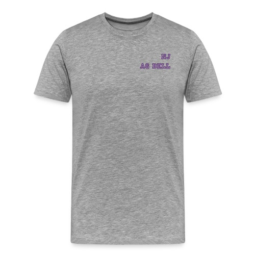 NJ-AG BELL - Men's Premium T-Shirt