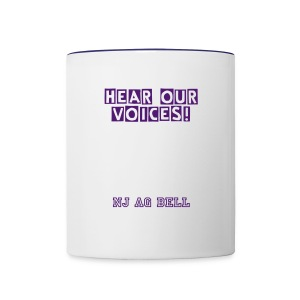 Hear Our Voices - Mug - Contrast Coffee Mug