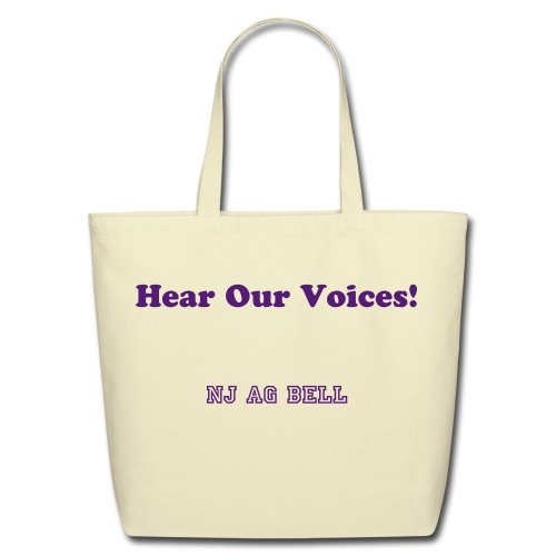 Tote bag - Hear Our Voices - Eco-Friendly Cotton Tote