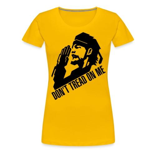 Ladies Gadsden Snake - Women's Premium T-Shirt
