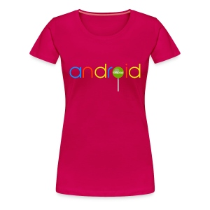 Android Lollipop/Premium - Women's Premium T-Shirt