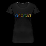 T-Shirts ~ Women's Premium T-Shirt ~ Android/Premium