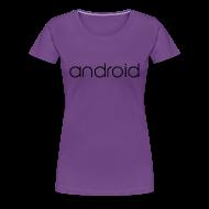 T-Shirts ~ Women's Premium T-Shirt ~ Android Lollipop/Premium