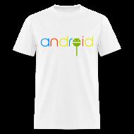 T-Shirts ~ Men's T-Shirt ~ Android Lollipop/Standard