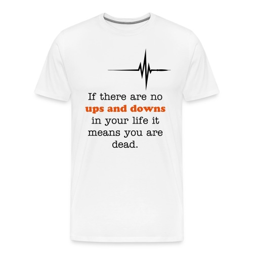 Ups and downs - Men's Premium T-Shirt