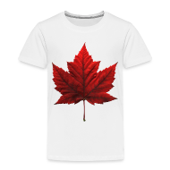 Baby & Toddler Shirts ~ Toddler Premium T-Shirt ~ Canada Baby T-shirt Maple Leaf Canada Souvenir