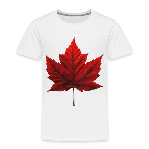 Canada Baby T-shirt Maple Leaf Canada Souvenir - Toddler Premium T-Shirt