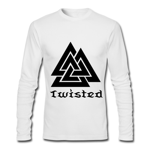 Twisted  - Men's Long Sleeve T-Shirt by Next Level