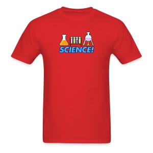 8-bit Science - Men's T-Shirt