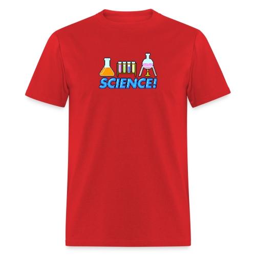 8-bit Science - Men's T-Shirt