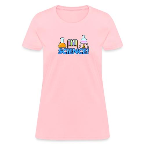 8-bit Science - Woments - Women's T-Shirt