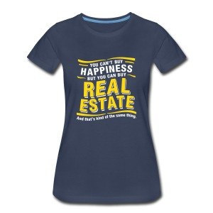 Can't Buy Happiness - Women's Premium T-Shirt