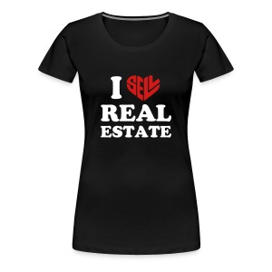 I Sell Real Estate - Women's Premium T-Shirt