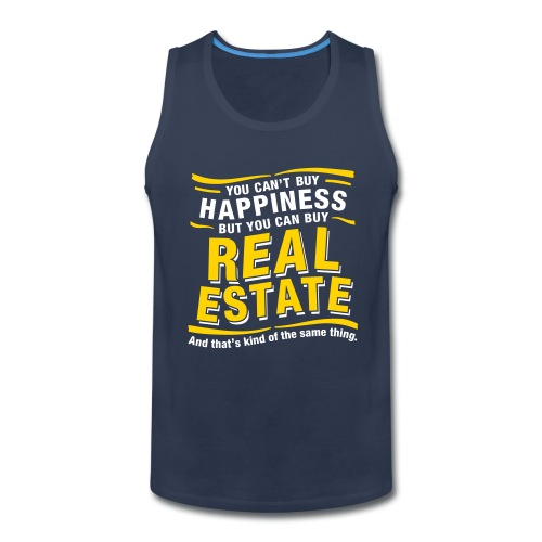 Can't Buy Happiness - Men's Premium Tank