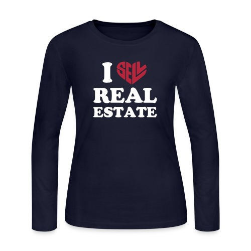 I Sell Real Estate - Women's Long Sleeve Jersey T-Shirt