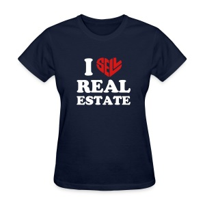 I Sell Real Estate Tee - Women's T-Shirt