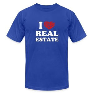 I Sell Real Estate - Men's T-Shirt by American Apparel