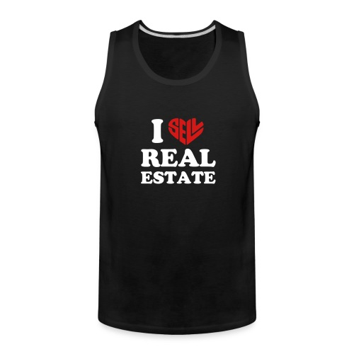 I Sell Real Estate - Men's Premium Tank